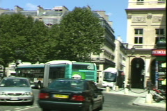 Opera Street-pan Stock Footage