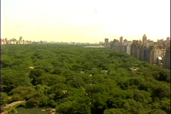 Park-aerial-zoom Stock Footage