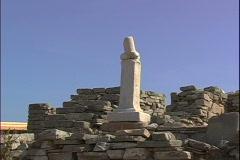 Phallus Statue Stock Footage