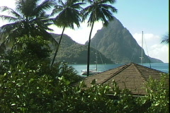 Pitons Resort-ws Stock Footage