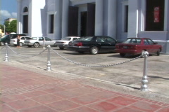 Ponce Cathedral-tilts Stock Footage
