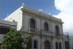 Ponce Street-tilts Stock Footage