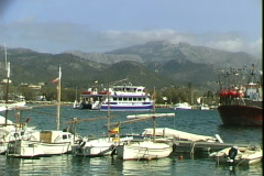 Port d'Andratx Ferry Stock Footage
