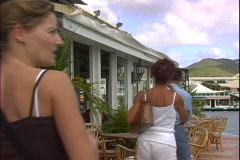 Port La Royale People-2 - stock footage