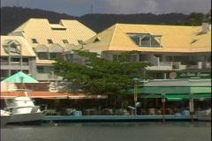 Port La Royale-zoom-2 - stock footage