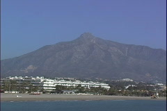 Puerto Banus Beach Resorts Stock Footage