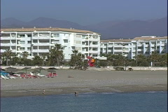Puerto Banus Kids-xws-zoom Stock Footage