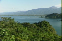 Quepos Bay-pan Stock Footage