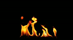 Fire flame - stock footage