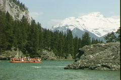 Raft Ride-ws Stock Footage