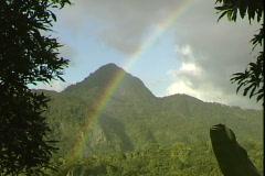 Rainbow-cu Stock Footage
