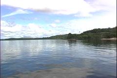 Rio Negro Shore-xws-pov Stock Footage