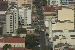 Rio Traffic-overhead Stock Footage