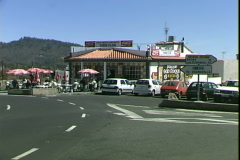 Roadside Restaurant-2 Stock Footage