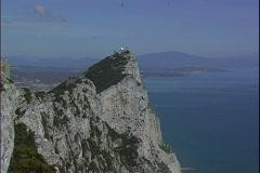 Rock-Costa del Sol-zooms Stock Footage