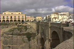 Ronda Bridge-ws Stock Footage