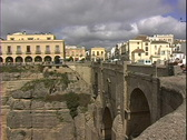Stock Video Footage of Ronda Bridge-ws