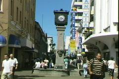 San Jose Clock Stock Footage