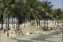 Sand Sculptor-Copa People Stock Footage