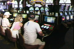 Slots Gamblers-pans Stock Footage