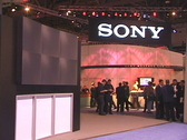 Stock Video Footage of SONY Exhibit People