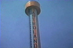 Astroland Coney Island Stock Footage