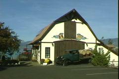 St Hubertus Wine Store Stock Footage