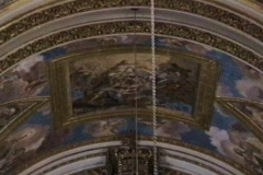 St Pauls Alter-tilt Stock Footage