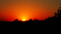 sunSet 06 - stock footage