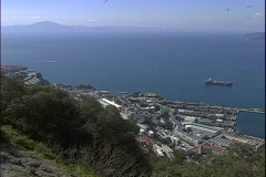 Strait of Gibralter-xws Stock Footage