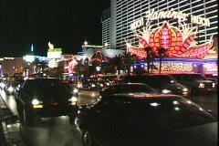 Strip-Flamingo Stock Footage