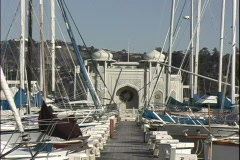 Taj Houseboat-ws-zoom - stock footage