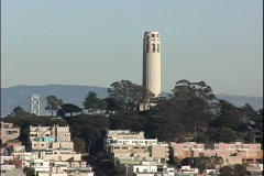 Telegraph Hill Stock Footage