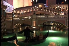 Venetian Canal-Night - stock footage