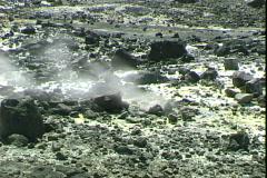 Volcano Vent-cu Stock Footage