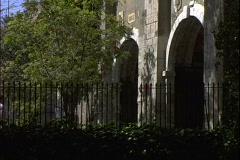 Walkway Gate Stock Footage