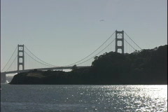 Waterview Golden Gate-pov Stock Footage