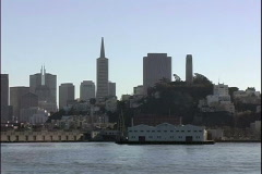 Waterview TransAmerica - stock footage