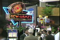 World Gaming Expo-IGT Stock Footage