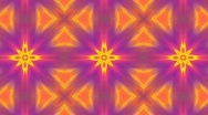 Kaleidoscope VJ loop Full HD Stock Footage