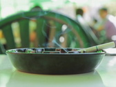 Cigarette and ashtray. SD. Stock Footage