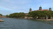 Stock Video Footage of ellis island, NYC