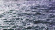 Ocean Waves Deep Blue Stock Footage