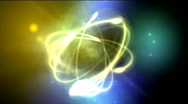 Stock Video Footage of atomic nucleo