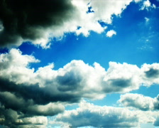 Noon Clouds PALWS (timelapse) - stock footage