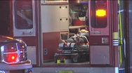 Stock Video Footage of Patient in ambulance