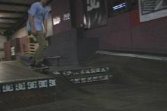 Skateboard 360 transfer Stock Footage