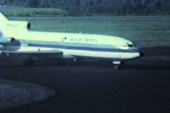 Eastern Airlines whisperjet - stock footage