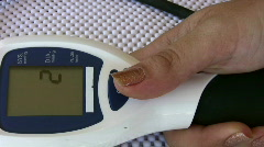 Blood Pressure Measurement   Full HD 1080p Stock Footage