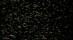 Particle array in space,like as bullet matrix.rain,blizzard,cold,depression,land Stock Footage